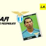 Cesar e la storia d'amore con la Lazio